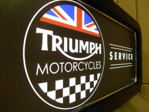 Triumph Feature Light Box