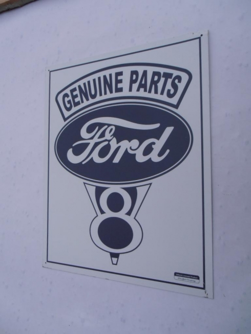 Ford Genuine Parts Tin Sign