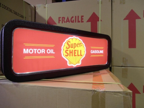 Shell Petrol Company Feature Light Box
