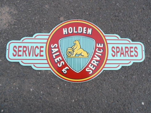 "Holden Parts Service Sales ""Light"" Bowtie"