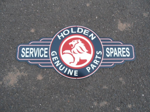 "Holden Parts Service Sales ""Dark"" Bowtie"