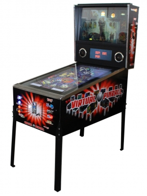 Virtual Pinball Machine with 820 Pinball Games