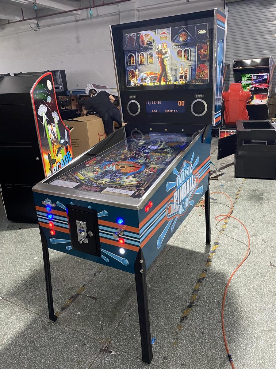 Mr Pinball - Virtual Pinball Machine with 820 Pinball Games