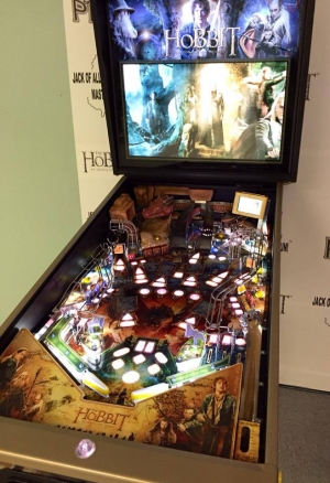 The Hobbit Pinball Smaug Gold Edition