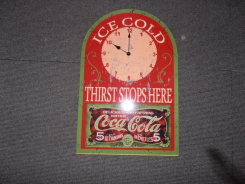 Coke Advertising Wall Clock
