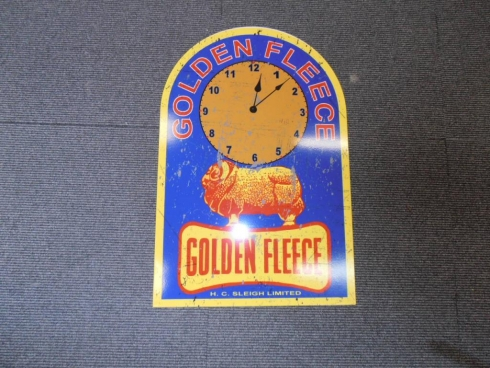 Golden Fleece Service Station Clock