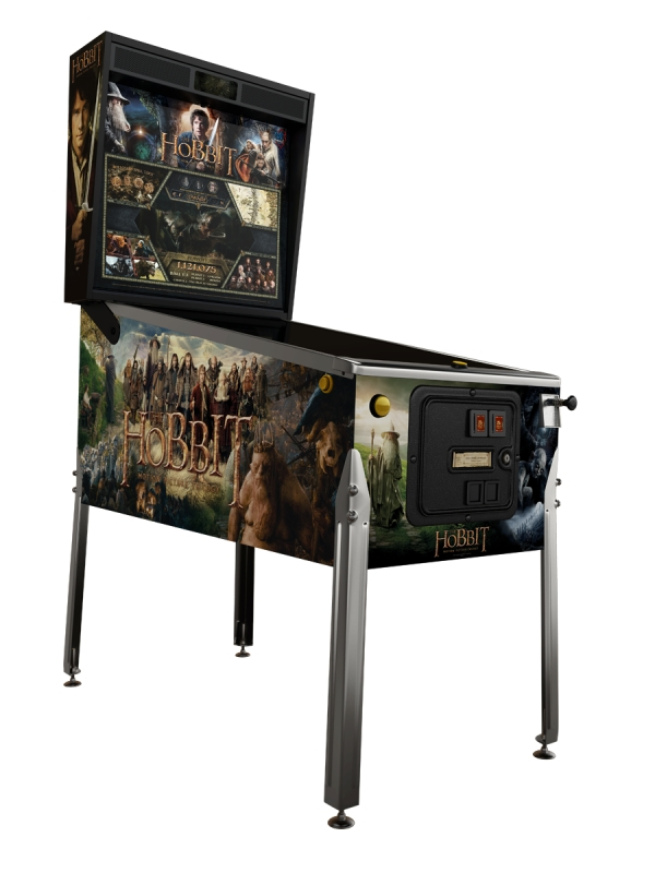 The Hobbit High Adventure Pinball Machine... Limited Edition