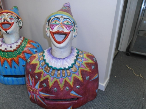 "Hand Made Luna Park Clown ""Kazam"""