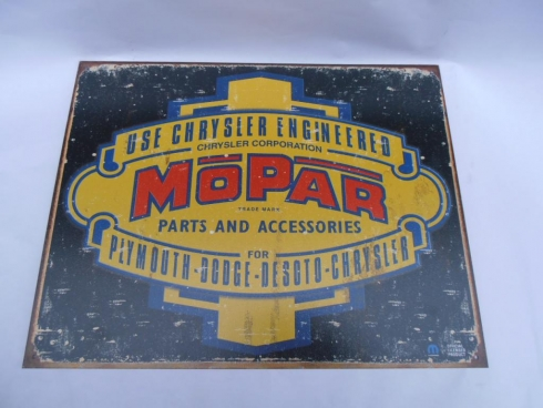 Chrysler Mopar Advertising Sign