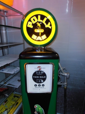 Polly Gas Light Up Full Size Petrol Bowser